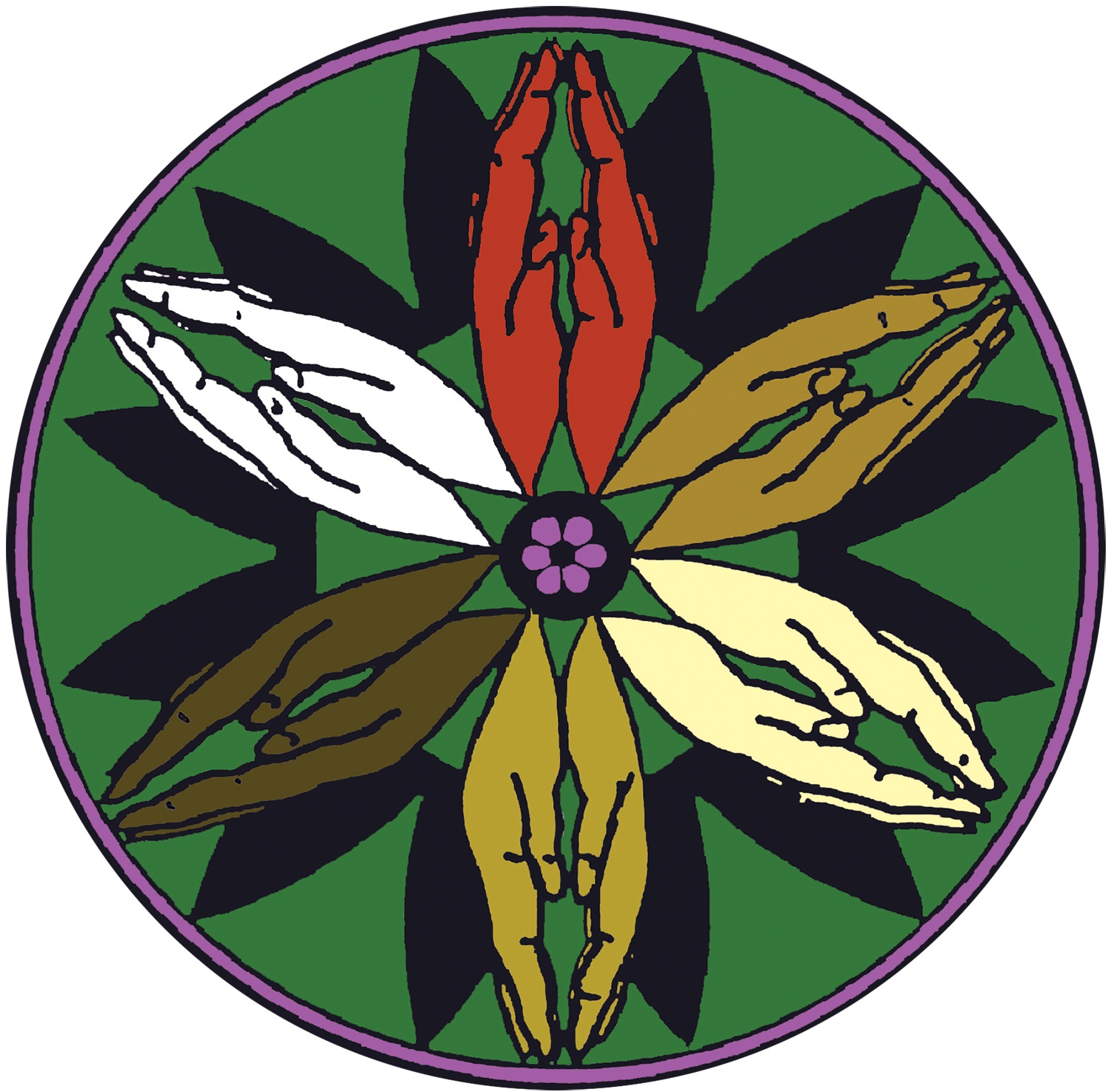 logo for Fellowship of the Least Coin - Global Movement of Prayer for Peace, Justice and Reconciliation