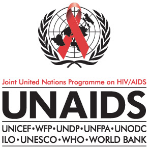 logo for Joint United Nations Programme on HIV/AIDS
