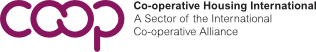 logo for Co-operative Housing International