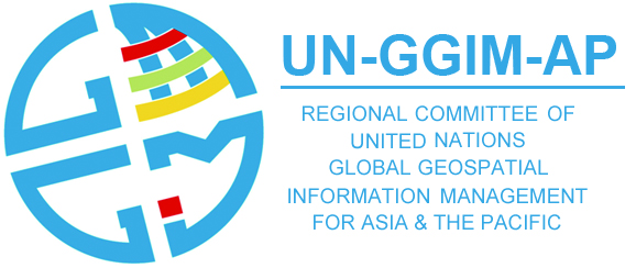 logo for Regional Committee of United Nations Global Geospatial Information Management for Asia and the Pacific