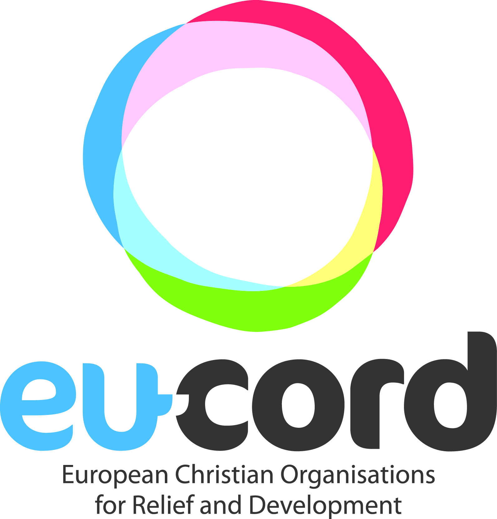 logo for European Christian Organisations in Relief and Development