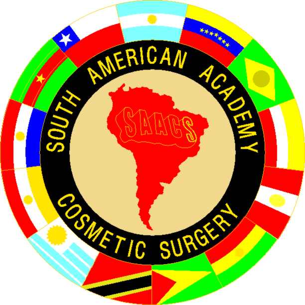 logo for South American Academy of Cosmetic Surgery