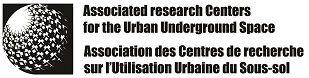 logo for Association des centres de recherche sur l'utilisation urbaine du sous-sol