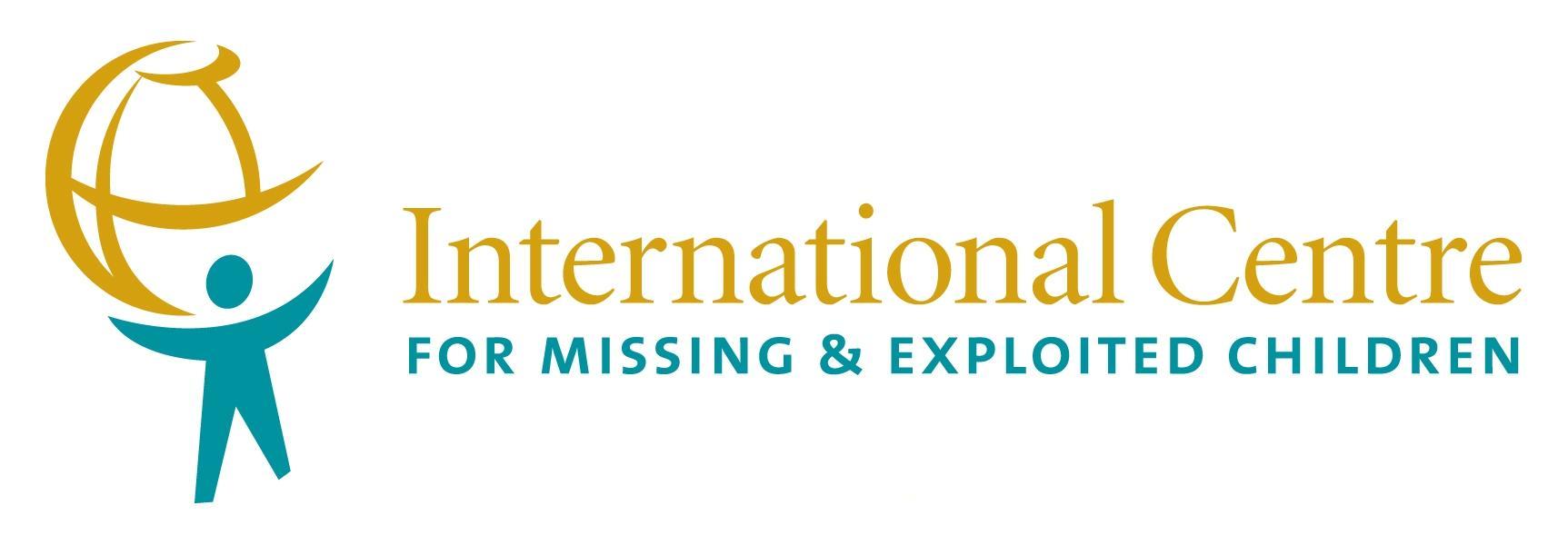 logo for International Centre for Missing  and  Exploited Children