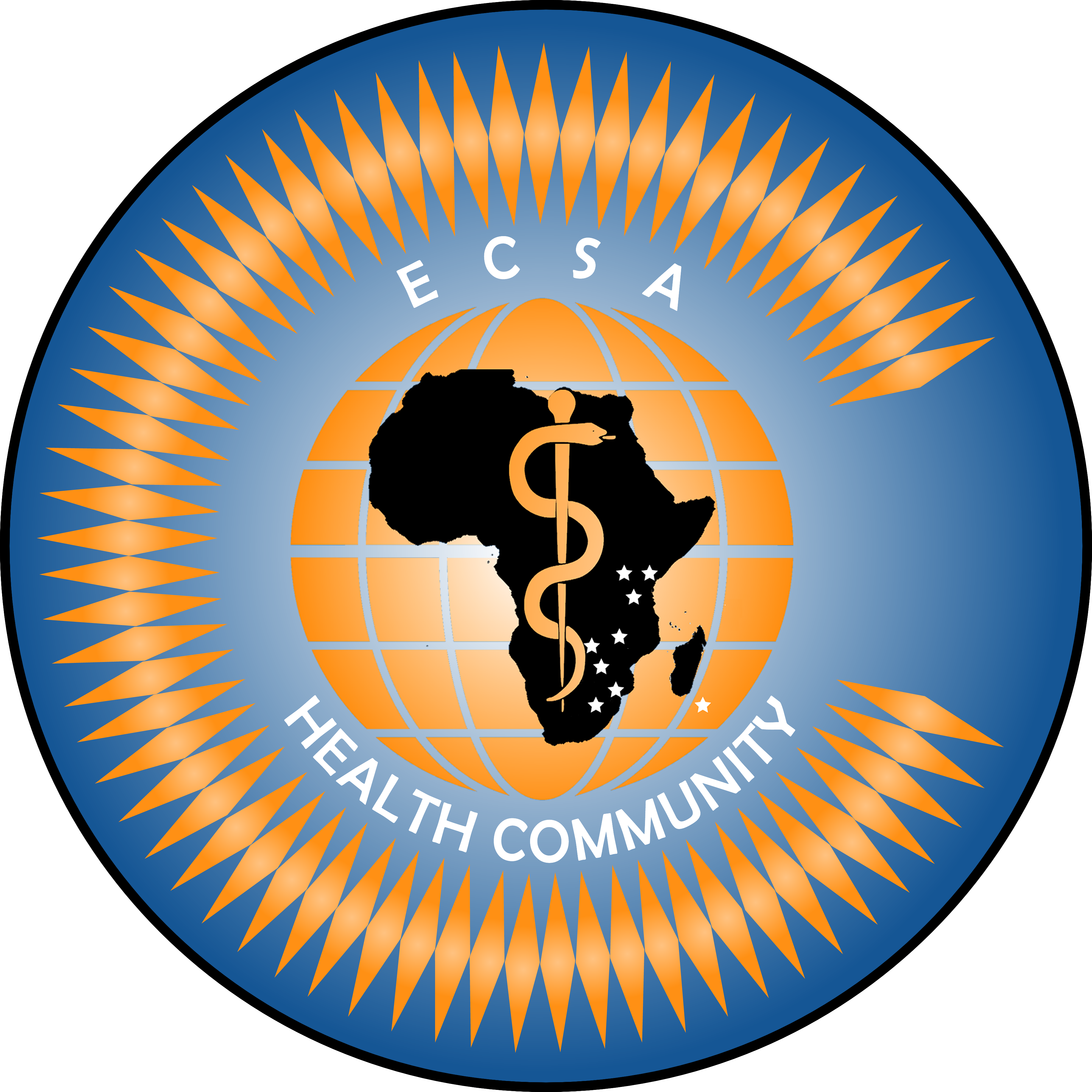 logo for East, Central and Southern African Health Community