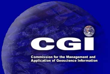 logo for IUGS Commission on Management and Application of Geoscience Information