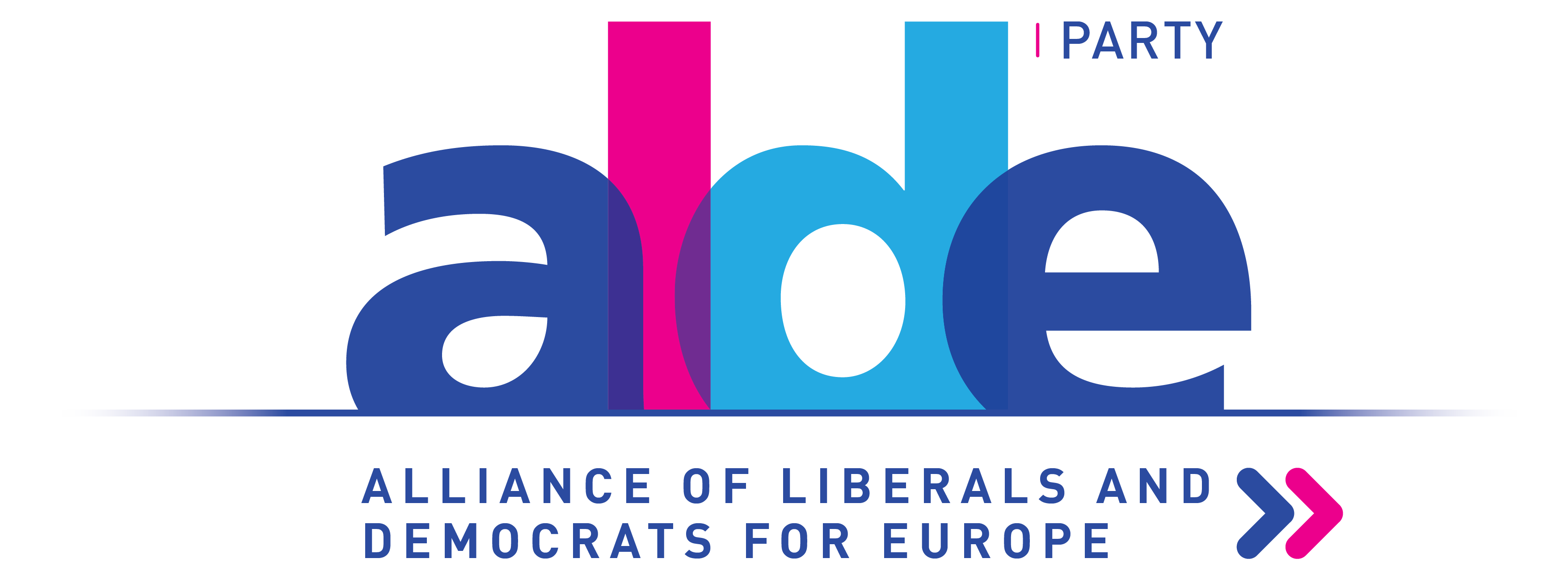 logo for Alliance of Liberals and Democrats for Europe Party