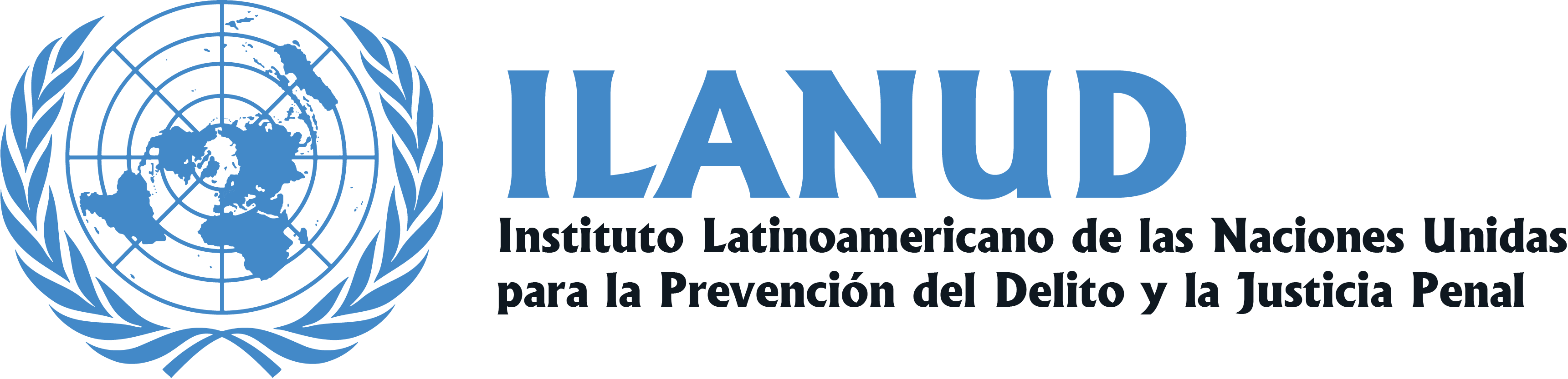 logo for Instituto Latinoamericano de las Naciones Unidas para la Prevención del Delito y Tratamiento del Delincuente