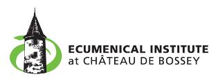 logo for Ecumenical Institute Bossey
