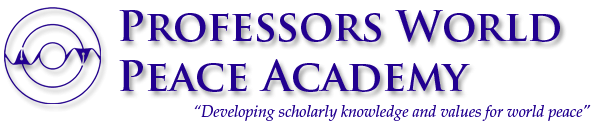 logo for Professors World Peace Academy