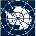 logo for Antarctic Treaty