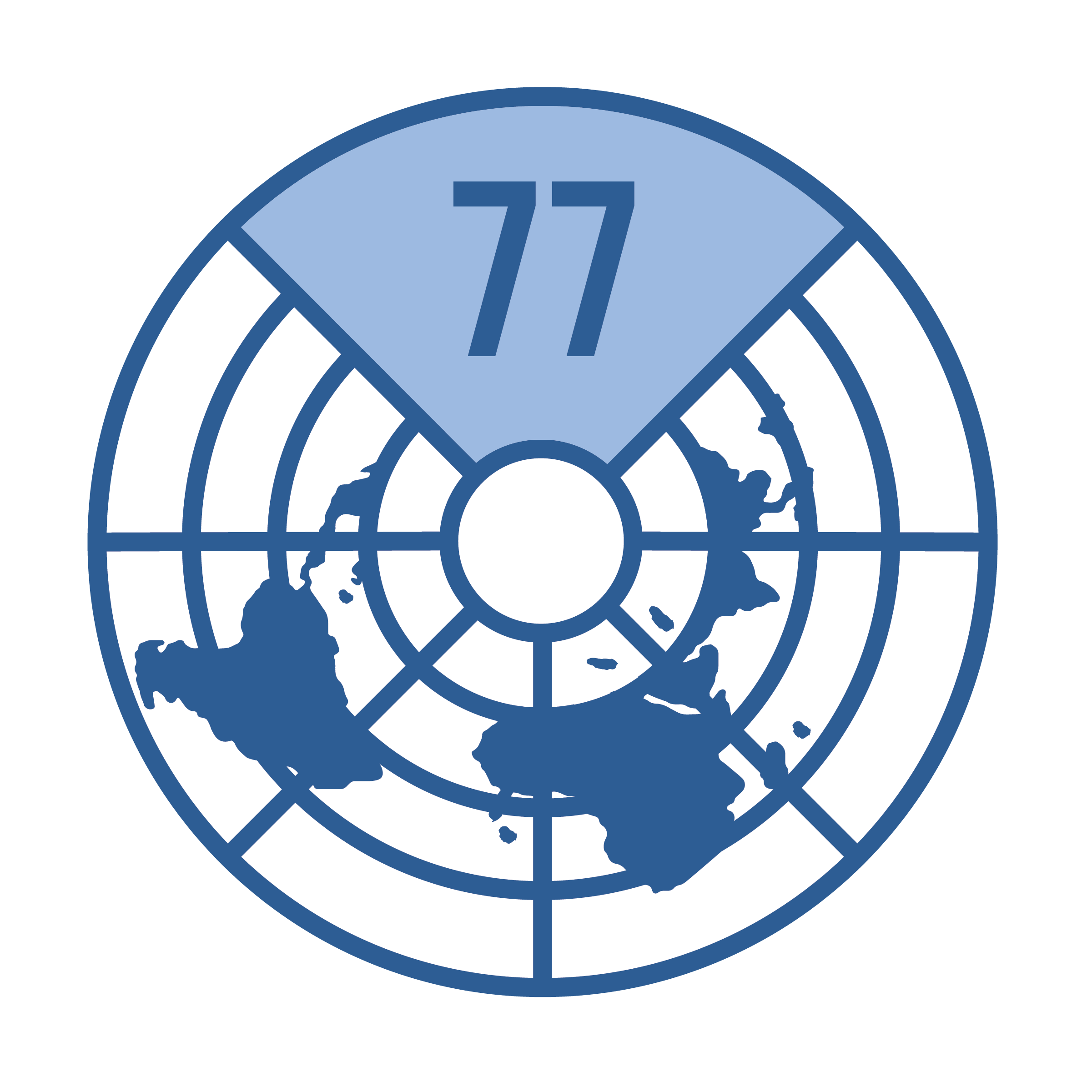 logo for Group of 77