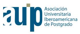 logo for Asociación Universitaria Iberoamericana de Postgrado