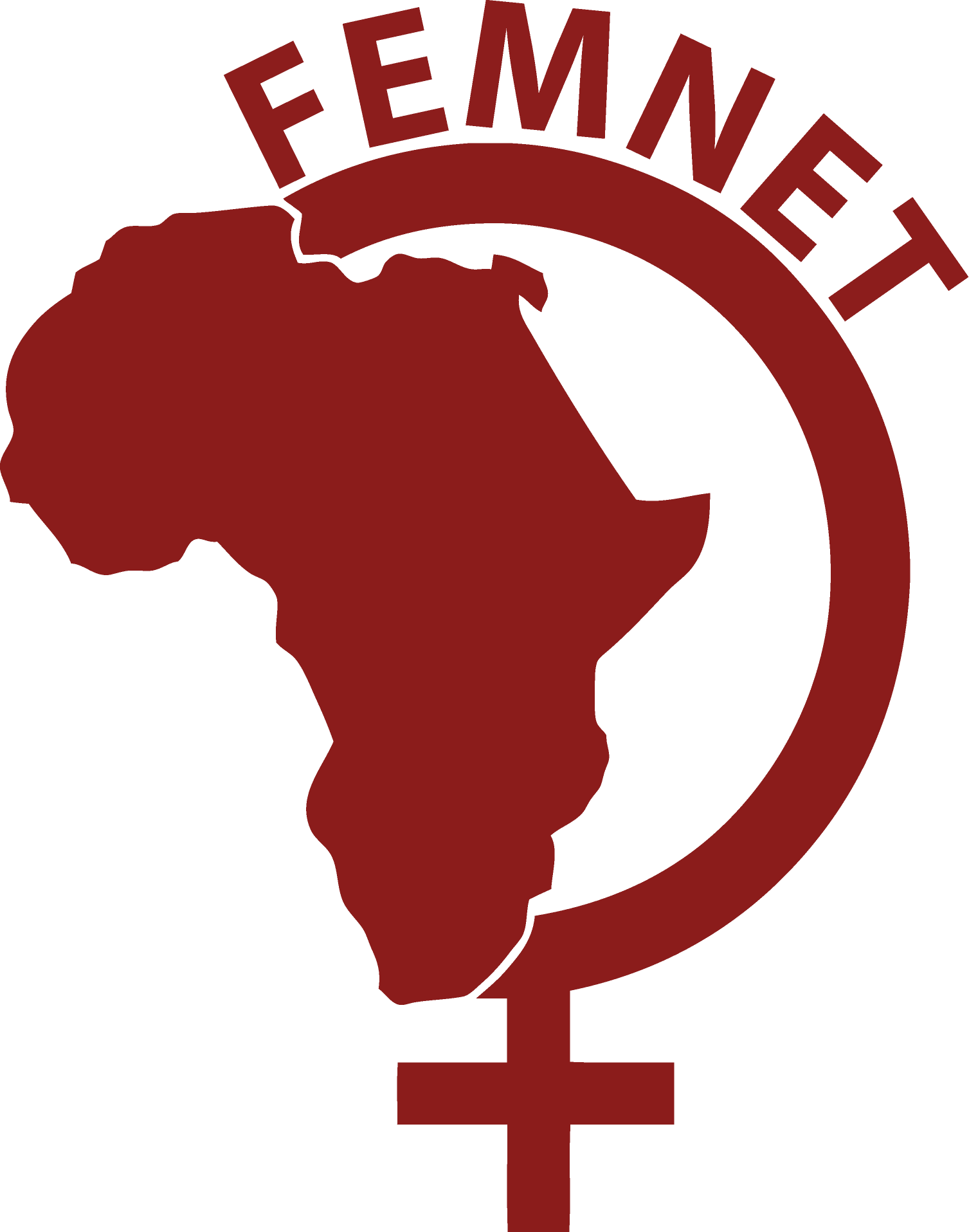 logo for African Women's Development and Communication Network