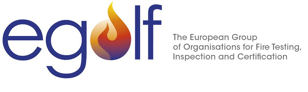 logo for European Group of Organisations for Fire Testing, Inspection and Certification