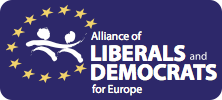 logo for Alliance of Liberals and Democrats for Europe