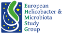 logo for European Helicobacter  and  Microbiota Study Group