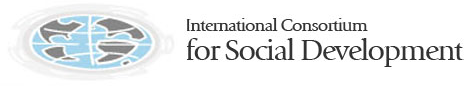 logo for International Consortium for Social Development