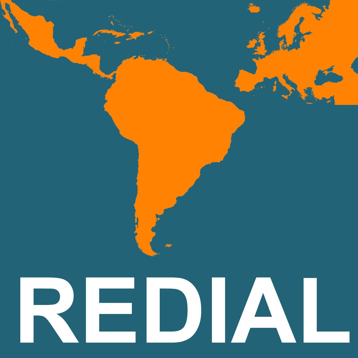 logo for Red Europea de Información y Documentación sobre América Latina