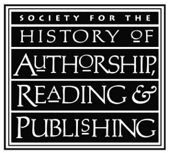 logo for Society for the History of Authorship, Reading and Publishing