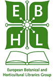 logo for European Botanical and Horticultural Libraries Group