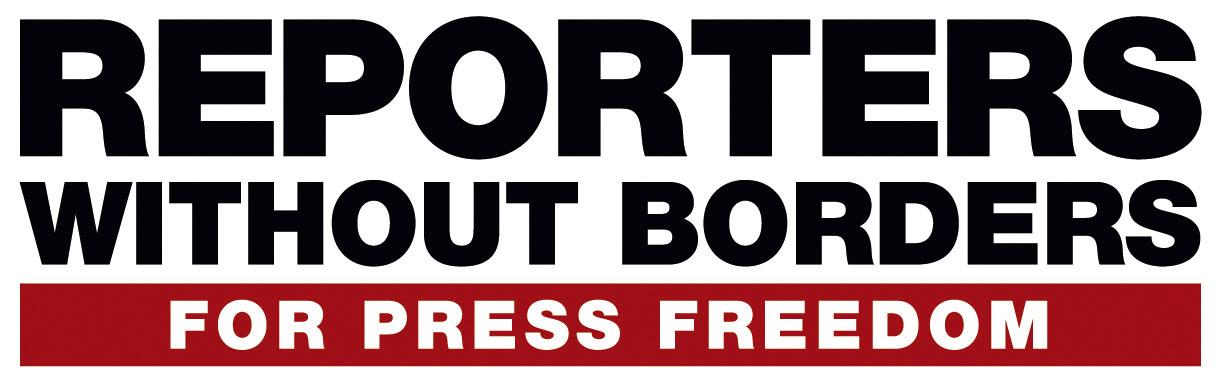 logo for Reporters sans frontières - international