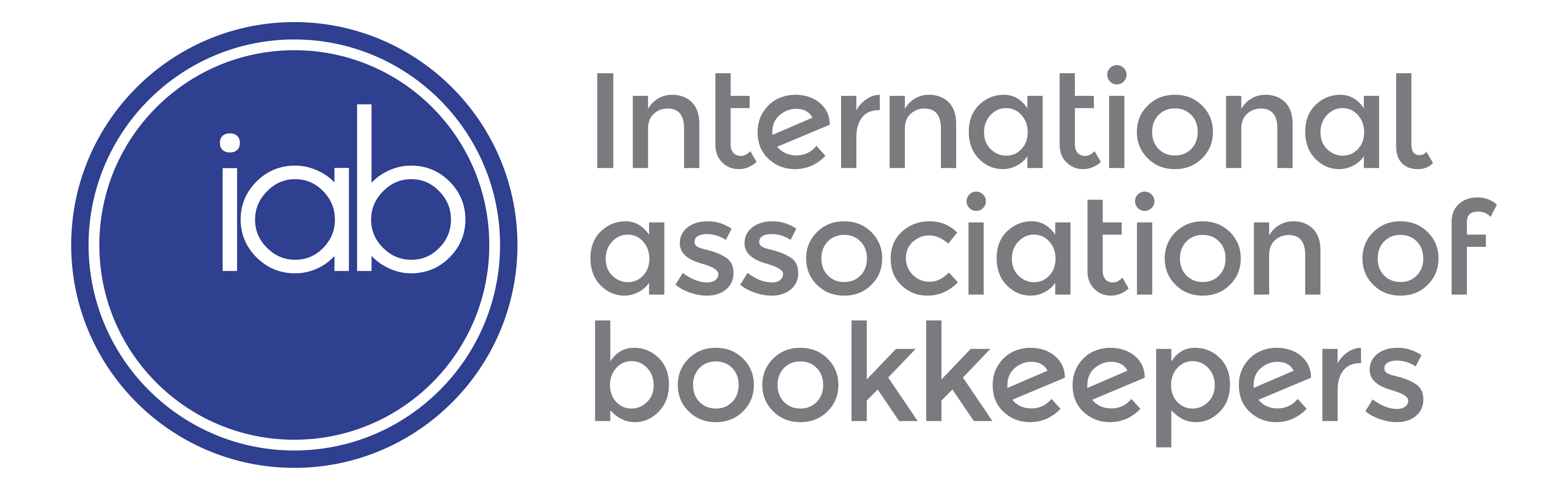 logo for International Association of Bookkeepers