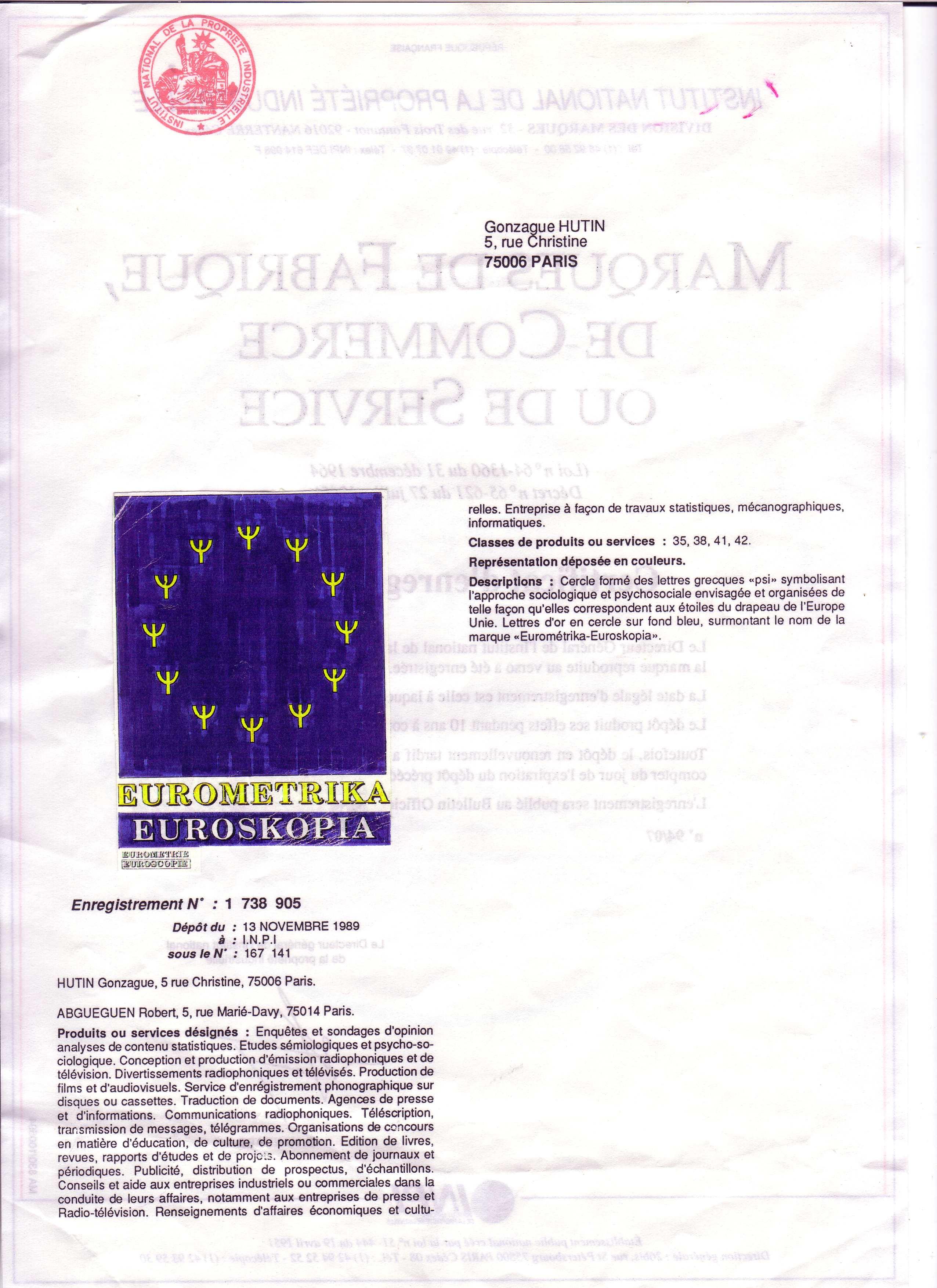 logo for Eurometrika-Euroskopia