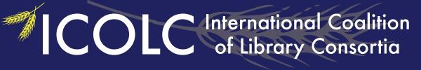 logo for International Coalition of Library Consortia