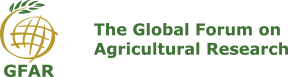 logo for Global Forum on Agricultural Research