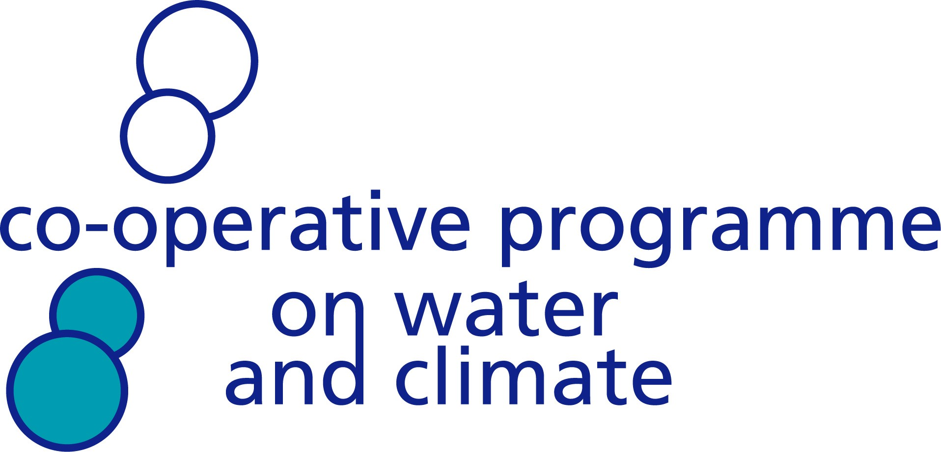 logo for Co-operative Programme on Water and Climate