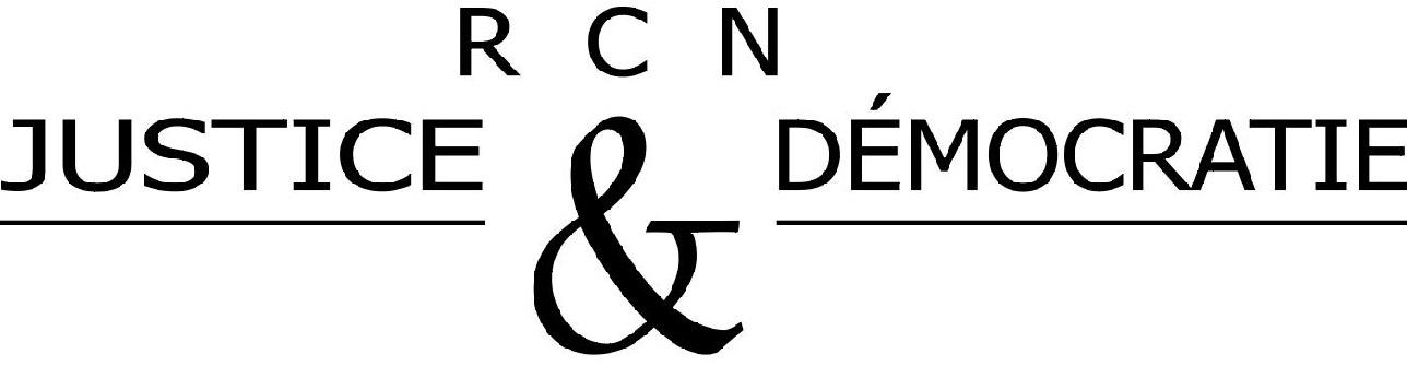 logo for RCN justice et démocratie