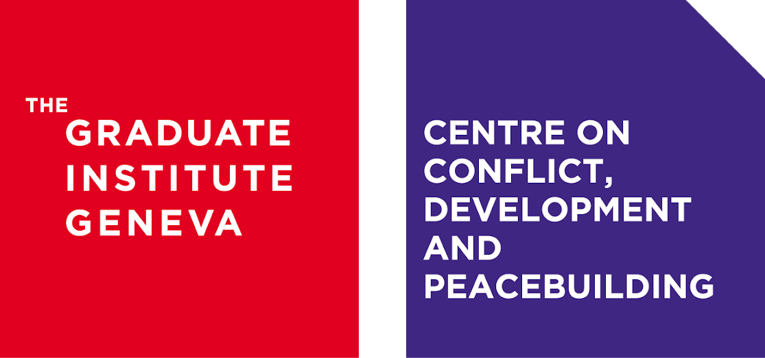 logo for Centre on Conflict, Development and Peacebuilding