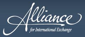 logo for Alliance for International Exchange