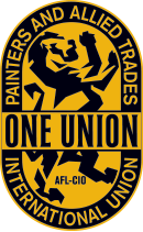 logo for International Union of Painters and Allied Trades