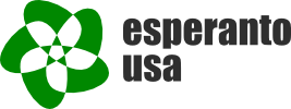 logo for Esperanto - USA