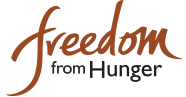 logo for Freedom from Hunger