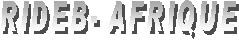 logo for Réseau international pour le développement et la sauvegarde de l'environnement à la base