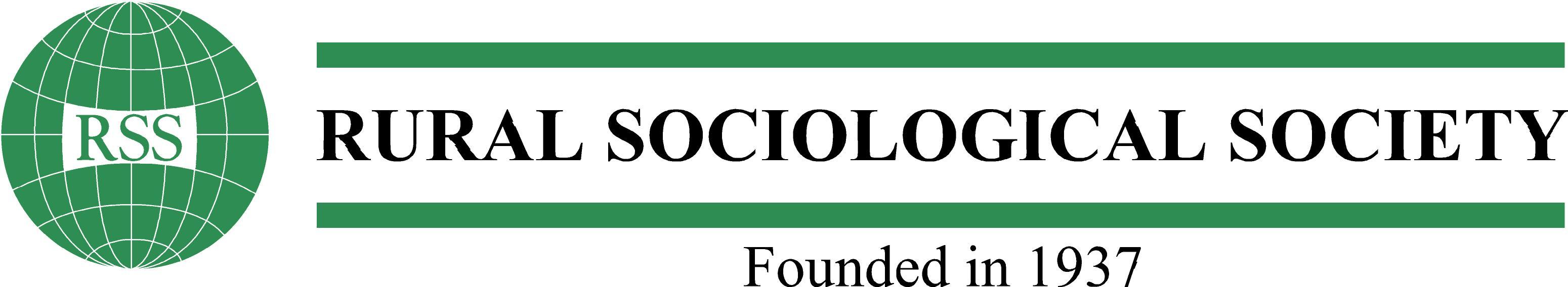 logo for Rural Sociological Society
