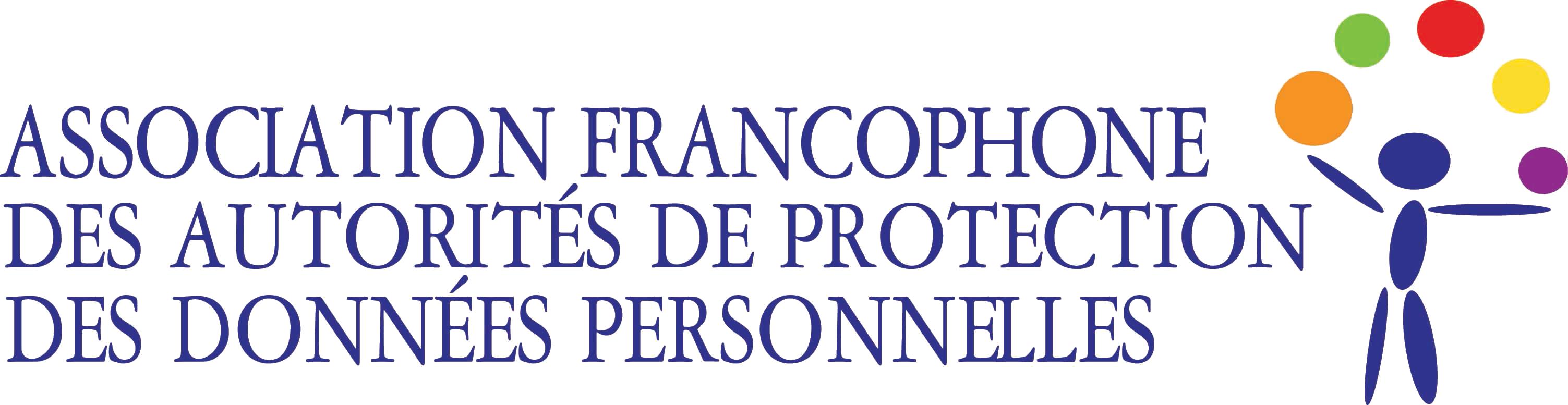 logo for Association francophone des autorités de protection des données personnelles