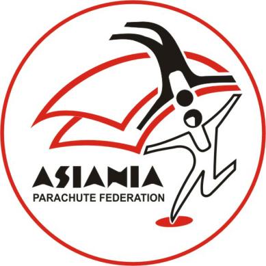 logo for Asiania Parachute Federation