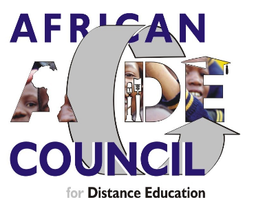 logo for African Council for Distance Education