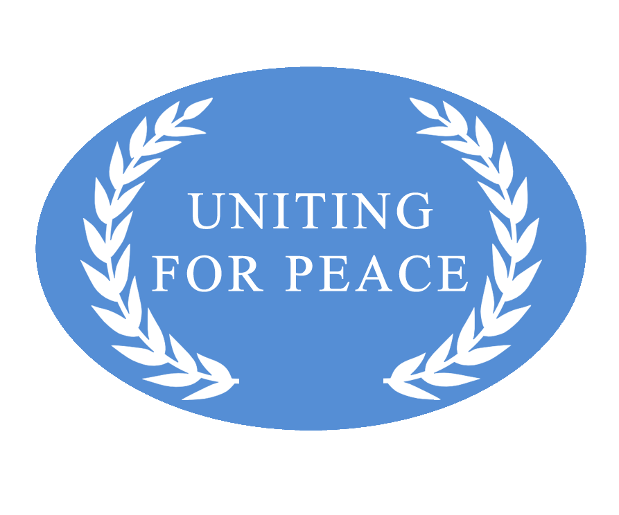 logo for Uniting for Peace