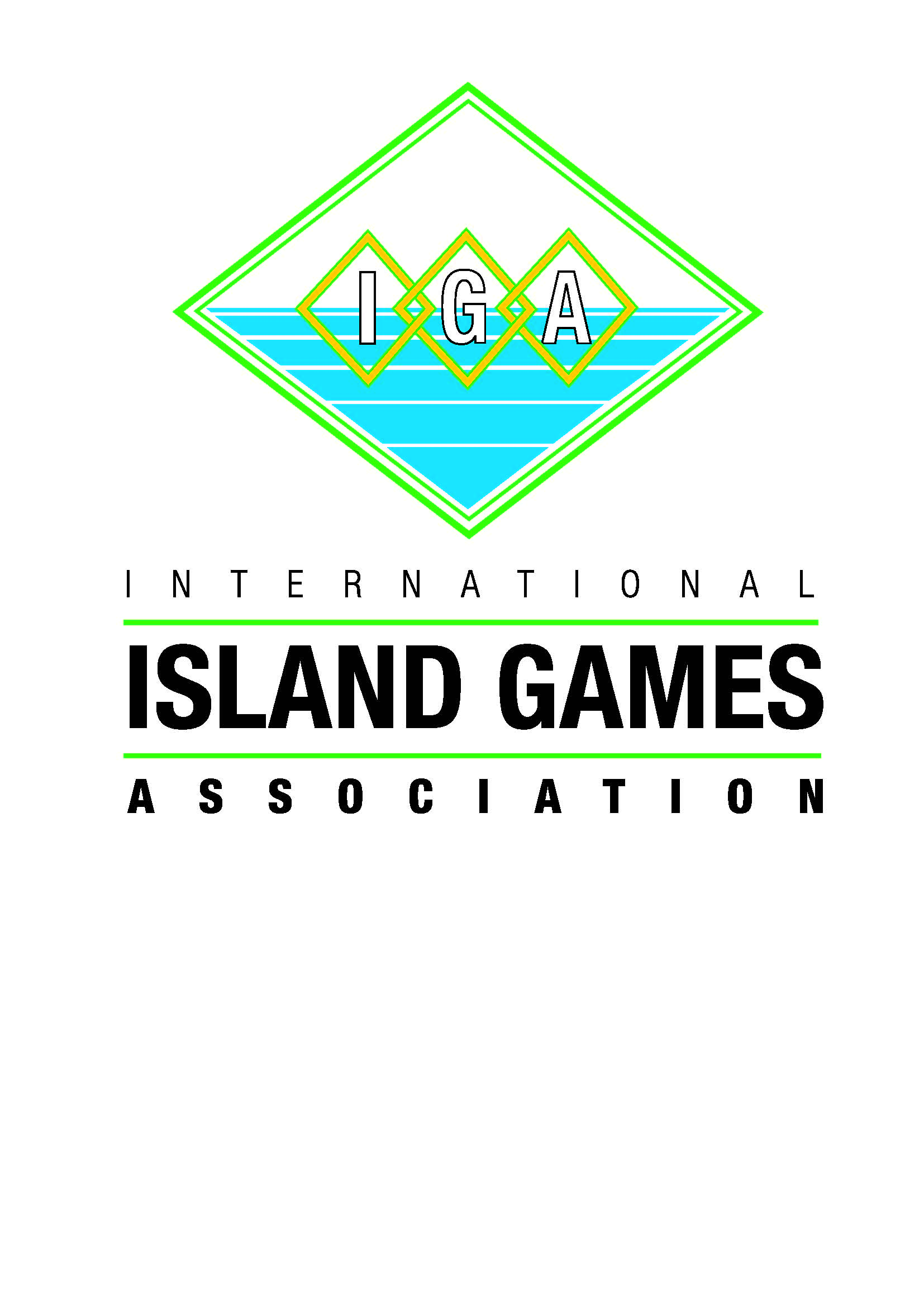 logo for International Island Games Association