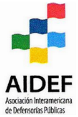 logo for Asociación Interamericana de Defensorias Públicas