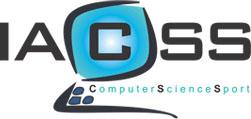 logo for International Association of Computer Science in Sport