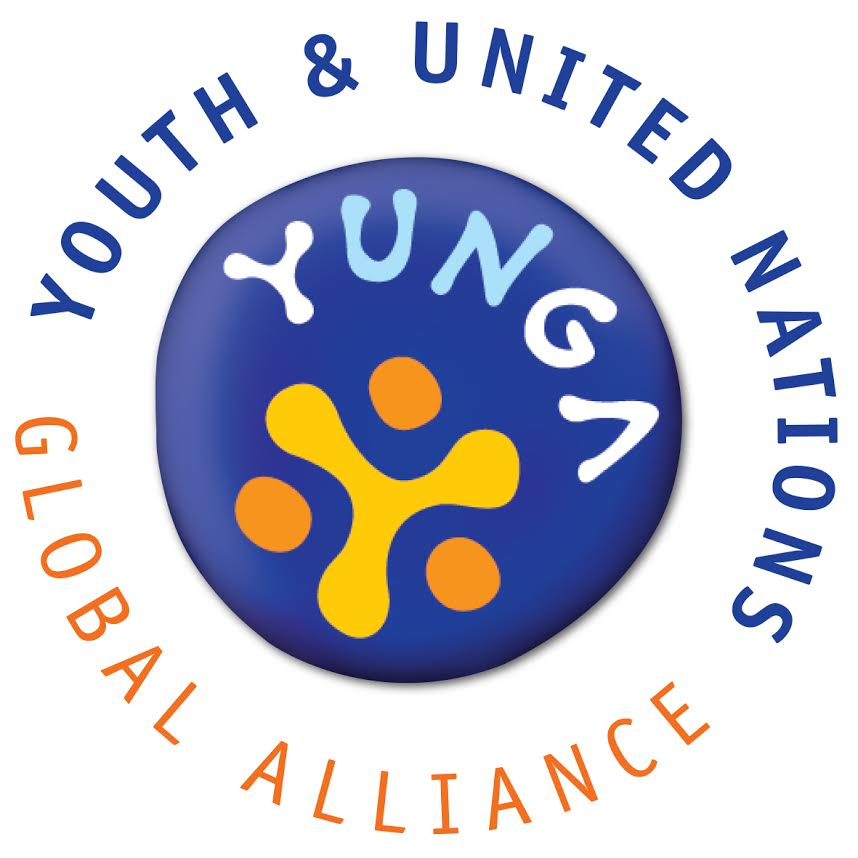 logo for Youth  and  United Nations Global Alliance