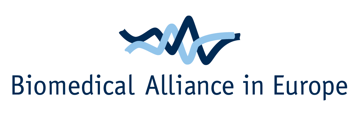 logo for Alliance for Biomedical Research in Europe