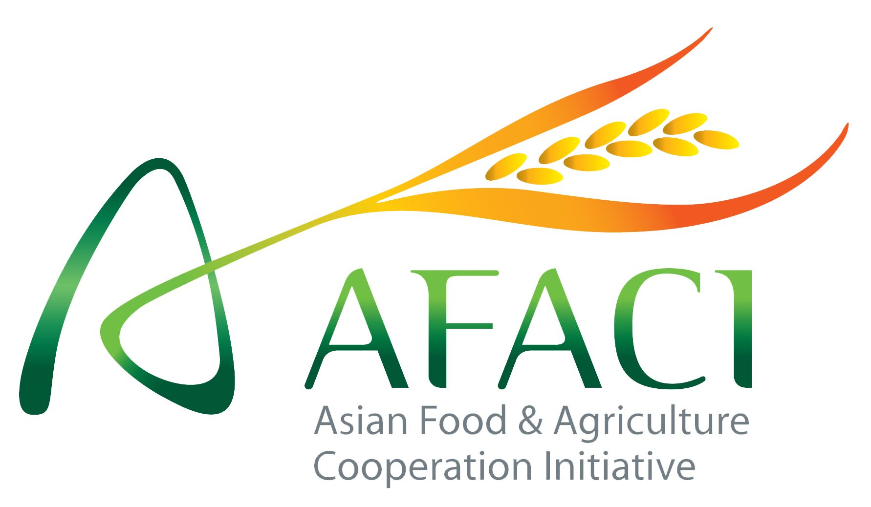 logo for Asian Food  and  Agriculture Cooperation Initiative