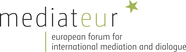 logo for European Forum for International Mediation and Dialogue